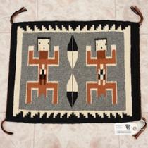 Hand Woven Navajo Rug Cultural Art 34596