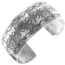 Navajo Hand Made Sterling Silver Bracelet 34599