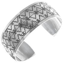 Native American Navajo Sterling Silver Bracelet 34600