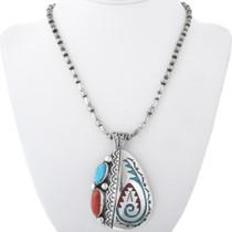 Navajo Robert Becenti Sterling Silver Jewelry 34605