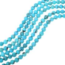 Round Tibetan Turquoise Beads 34701