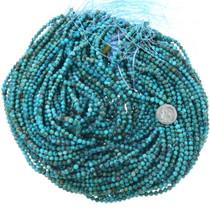 Round 4mm Tibetan Turquoise Bead Strands 34702