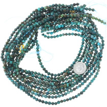 Round 4.5mm Tibetan Turquoise Beads Jewelry Making Supplies 34703