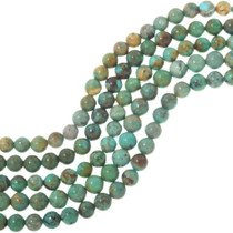 Green Turquoise Beads Caramel Mocha Matrix 34704