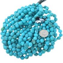 Tibetan Turquoise Beads Round 8mm 33490