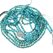 Genuine Blue Green Tibetan Turquoise Bead Strand 33493