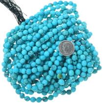 Tibetan Turquoise Round 6mm Beads 33494