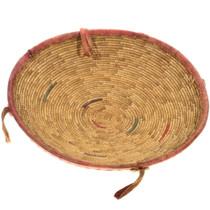 Vintage African Basket Bowl 34610