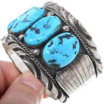 Sleeping Beauty Turquoise Old Pawn Bracelet Bracelet 34620
