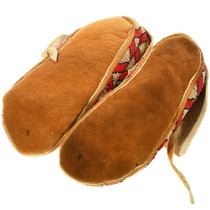 Soft Leather Beaded Moccasins 34635