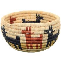 Vintage Hopi Pictorial Basket 34646