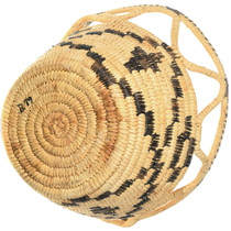 Authentic Papago Rare Hand Woven Basket 34648