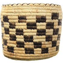 Southwest Native American Storage Basket 34650