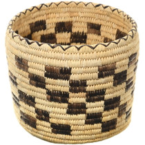 Vintage Papago Indian Basket 34650