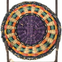 Polychrome Hopi Native American Basket 34651