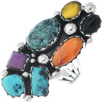 Navajo Turquoise Gemstone Ring 34660