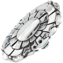 Vintage Navajo Sterling Silver Ladies Ring 34663