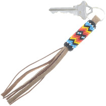 American Indian Beaded Key Ring
