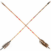 Replica Red Hand Painted Navajo Arrows 34679