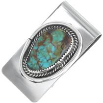 Navajo Turquoise Money Clip 34696