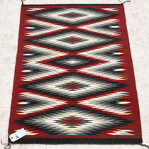 Authentic Hand Woven Navajo Wool Rug 34800