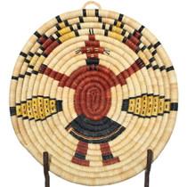 Vintage Hopi Kachina Basket 34801