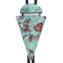 Navajo Turquoise Arrowhead Bolo Tie 34814