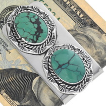 Spiderweb Turquoise Money Clip 34818