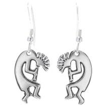 Sterling Silver Kokopelli Dangle Earrings 34820
