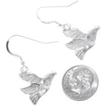 Navajo Silver Dove Earrings 34821