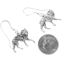 Silver Wolf French Hook Earrings 34826
