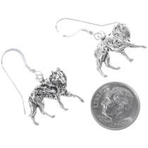 Silver Wolf French Hook Earrings 34826