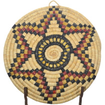 Authentic Native American Tray Basket 34834