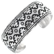Native American Sterling Silver Cuff Bracelet 34833