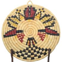 Authentic Hopi Basket Second Mesa Weaver 34836