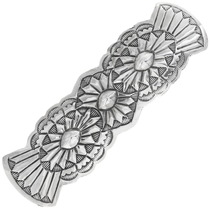 Navajo Sterling Silver Hair Barrette 34839