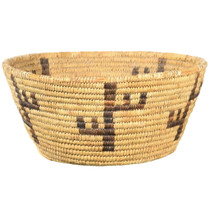 Vintage Papago Indian Cactus Basket 34842