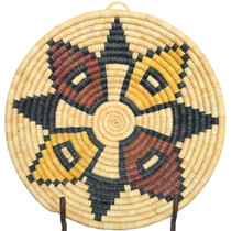 Vintage Hopi Polychrome Basket 34844