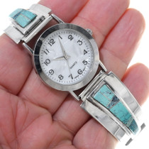 Native American Turquoise Watch 34888