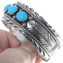 Navajo Turquoise Bracelet 11501