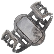 Solid Sterling Silver Old Pawn Navajo Cuff 34931
