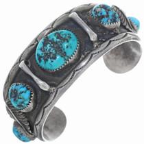 Old Pawn Kingman Turquoise Nugget Bracelet 34934