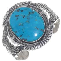 Vintage Turquoise Silver Bracelet 34938