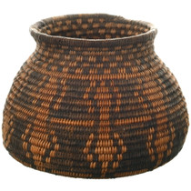 Old Apache Pictorial Olla Basket 34940