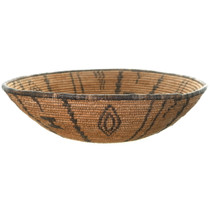 Apache Tribe Hand Woven Basket Cultural Art 34956