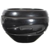 Hand Coiled Incised Santa Clara Pottery 34958
