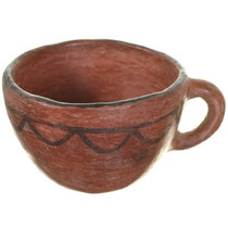 Antique Maricopa Pottery Cup 34964