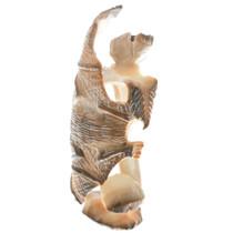 Native American Carved Antler Fetish Cultural Art 34969