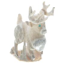 Genuine Carved Antler Elton Kaamasee Fetish 34972