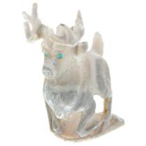 Authentic Zuni Deer Fetish Carving 34972